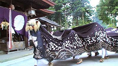 総宮神社の獅子舞