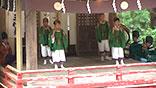熊野神社の舞楽および稚児舞