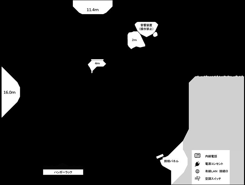 第1研修室図