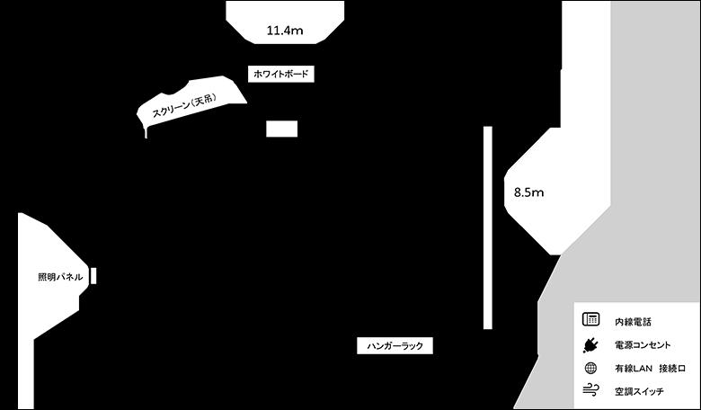 第2研修室図