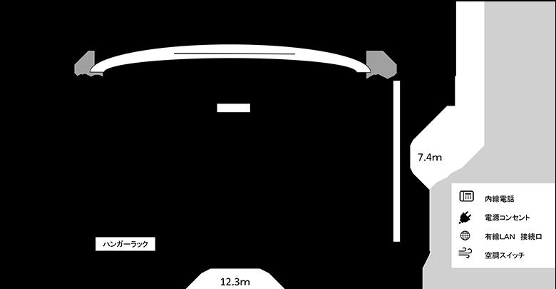 第3研修室図