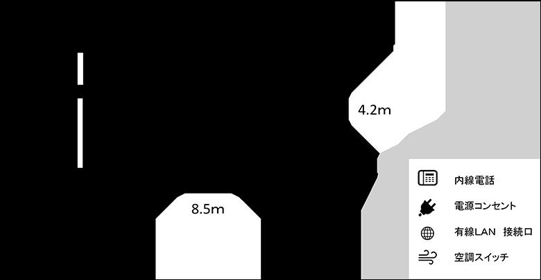 第6研修室図