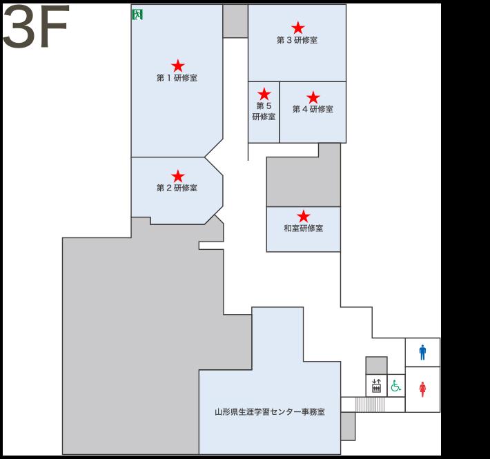3Fフロア図